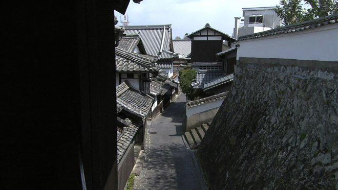 臼杵の城下町