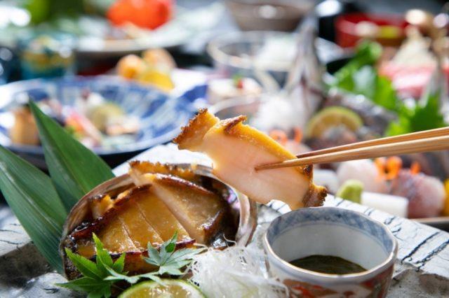 【贅の極み】おおいた和牛ヒレステーキ&おおいた県産蒸鮑を食す贅沢会席